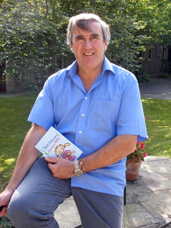Gervase Phinn with his book Little Treasures