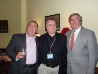 photo of gervase phinn at borders, melrose