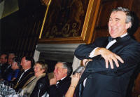 photo - professor Gervase  Phinn - at York Award ceremony