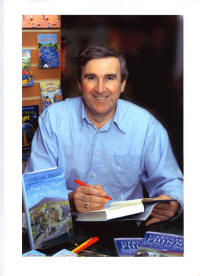 photo - Gervase Phinn signing books