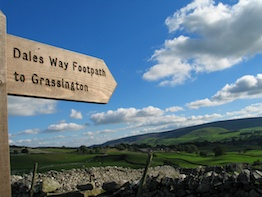 footpath sign