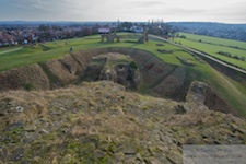 sandal castle photo by richard benson