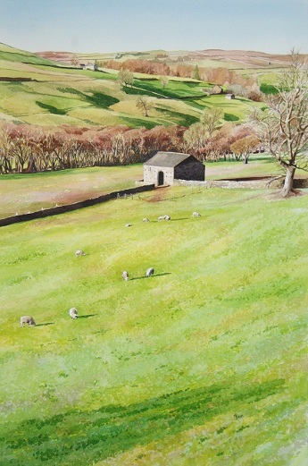 nidderdale watercolour