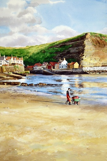staithes  watercolour